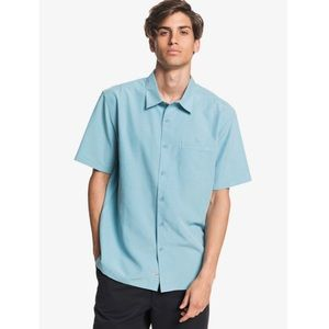 Quicksilver Waterman Blue Button Down Shirt